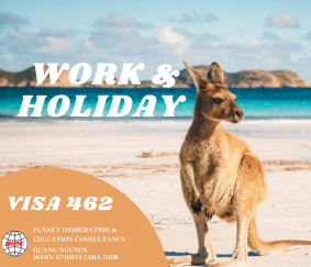 VISA 462: WORK AND HOLIDAY IN AUSTRALIA